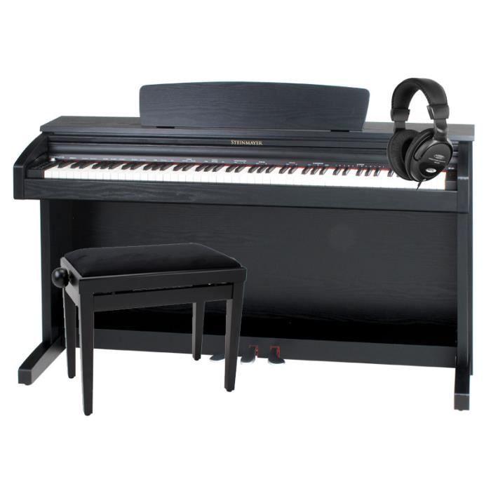 steinmayer dp 220 piano num rique en noir d pol achat. Black Bedroom Furniture Sets. Home Design Ideas