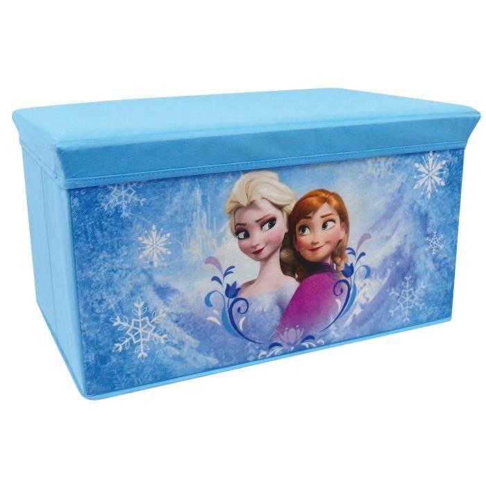 la reine des neiges banc de rangement pliable cijep achat vente coffre jouets les. Black Bedroom Furniture Sets. Home Design Ideas