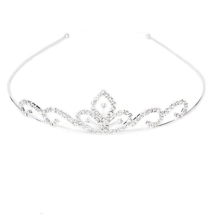 strass mariage dcor de fleurs de style nuptiale cheveux barrettes serre tte barrette boucle de cheveux couronne sliver - Cout Fleuriste Mariage