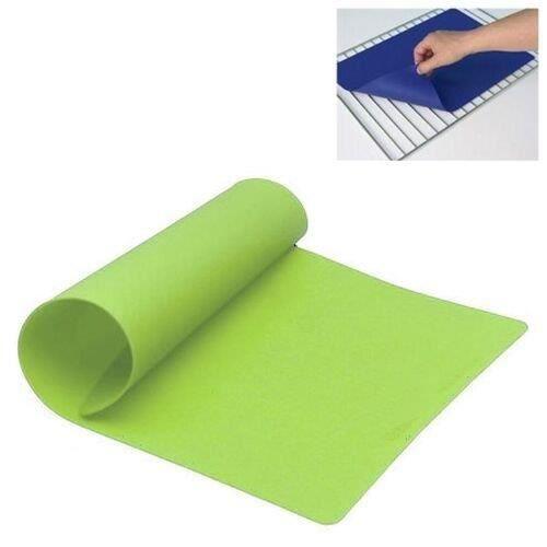 Tapis p tisserie en silicone vert achat vente tapis for Achat materiel patisserie