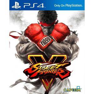 JEU PS4 Street Fighter V Jeu PS4