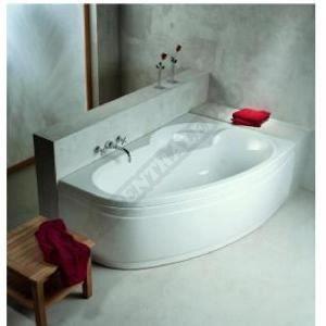 baignoire asym trique ladiva junior 160x100 cm gau achat. Black Bedroom Furniture Sets. Home Design Ideas
