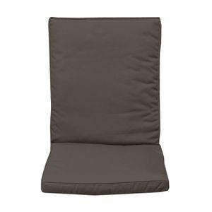 coussin avec dossier pour chaise exterieur achat vente coussin avec dossier pour chaise. Black Bedroom Furniture Sets. Home Design Ideas