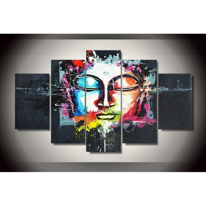 Toile bouddha achat vente toile bouddha pas cher les soldes sur cdisco - Peinture sur toile pas cher ...