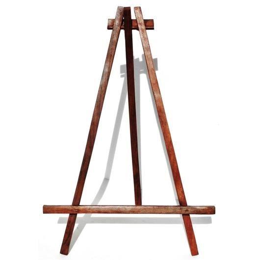 chevalet en bois de table porte cadre rustique 15x36 cm achat vente chevalet de peintre. Black Bedroom Furniture Sets. Home Design Ideas