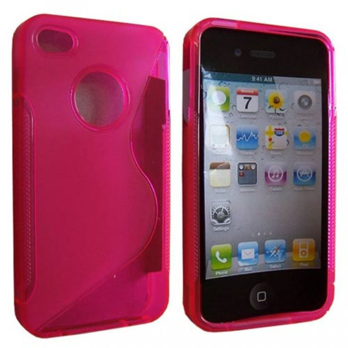 Housse s line rose pour iphone 4 4s achat vente for Housse iphone 4s