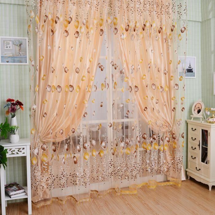 rideaux chambre adulte achat vente rideaux chambre adulte pas cher cdiscount. Black Bedroom Furniture Sets. Home Design Ideas