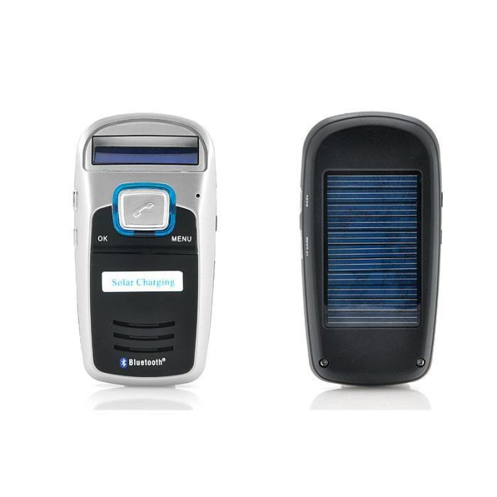 kit mains libres bluetooth voiture solaire af achat kit pi ton pas cher avis et meilleur. Black Bedroom Furniture Sets. Home Design Ideas
