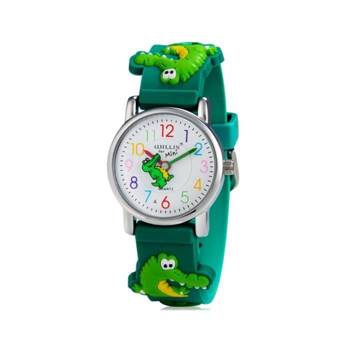 Willis pour crocodile dessin anim mini 255 conception analogique montre bracelet pour les - Dessin anime les crocodiles ...