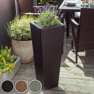 cache pot exterieur achat vente cache pot exterieur pas cher cdiscount. Black Bedroom Furniture Sets. Home Design Ideas