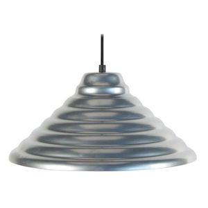 ONDULÉ Lustre - suspension cône ondulé, diam?tre 35 cm, aluminium