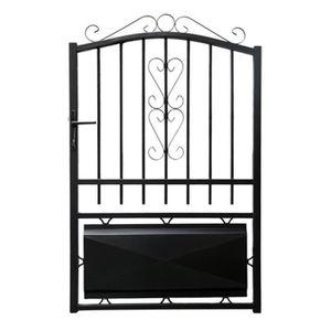 portail fer achat vente portail fer pas cher cdiscount. Black Bedroom Furniture Sets. Home Design Ideas