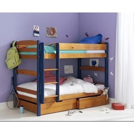 lit superpos transformable en 2 lits achat vente lits. Black Bedroom Furniture Sets. Home Design Ideas