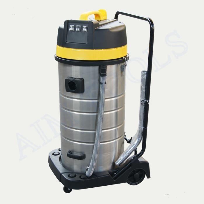 171185 triple 3 moteur aspirateur industriel humide sec lavage voiture 100 litres achat. Black Bedroom Furniture Sets. Home Design Ideas