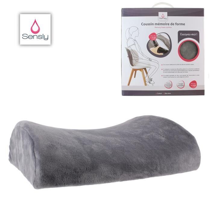 oreiller support m moire de forme mal de dos achat vente oreiller cdiscount. Black Bedroom Furniture Sets. Home Design Ideas