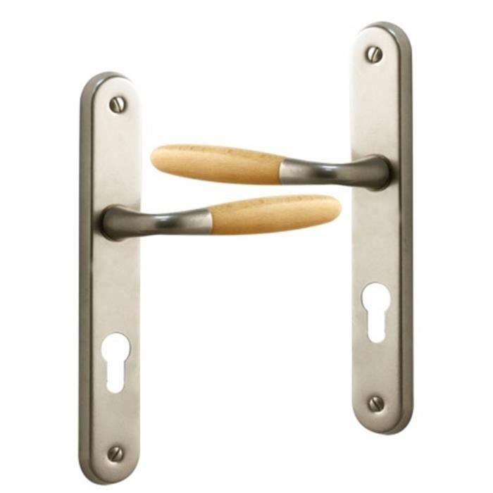 Poign e de porte ext rieure design en aluminium ni achat for Rideau de porte d entree exterieure