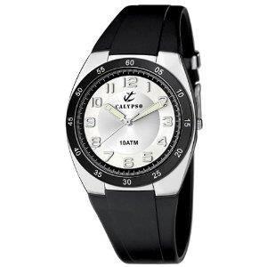 montre calypso k6044 c bracelet noir achat vente montre montre calypso k6044 c br. Black Bedroom Furniture Sets. Home Design Ideas