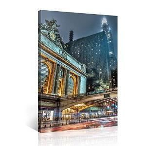 Tableau deco moderne grand central station new y achat vente tableau deco - Grand tableau moderne ...