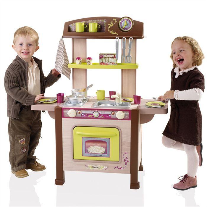 Berchet cuisine enfant bois tradition achat vente - Cuisine enfant berchet ...