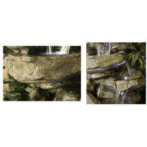Fontaine de jardin en pierre - Achat / Vente Fontaine de ...