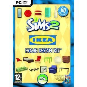 JEU PC LES SIMS 2 IKEA HOME DESIGN KIT / JEU PC CD-ROM -