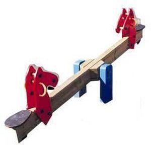 balancoire a bascule les poneys achat vente balan oire. Black Bedroom Furniture Sets. Home Design Ideas