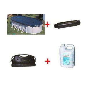 bache pour piscine 7x3 achat vente bache pour piscine. Black Bedroom Furniture Sets. Home Design Ideas