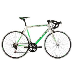 """VÉLO DE COURSE - ROUTE Vélo de course 28"""" Piccadilly blanc-vert TC 55 cm"""