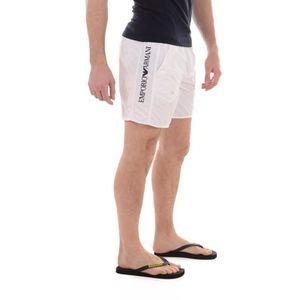 MAILLOT DE BAIN Short court maillot de bain blanc EMPORIO ARMANI