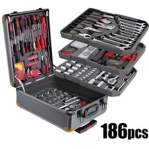 formidable bo te outils swiss de 186 pi ces cette caisse outils professionnelle et tr s. Black Bedroom Furniture Sets. Home Design Ideas