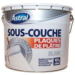 Astral s couche plaque de plat mono10l achat vente for Sous couche isolante murale
