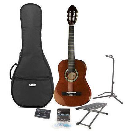 Cette guitare pour petit comme grand petit prix id ale for Housse guitare classique