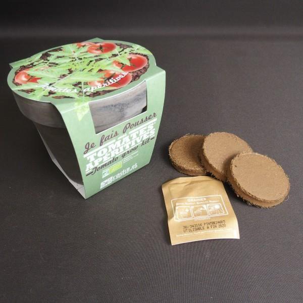 Kit de tomates faire pousser cadeau maestro achat vente graine semence kit de tomates - Faire pousser des champignons de paris ...
