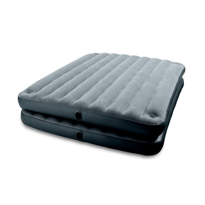 matelas 2 personnes 2 en 1 intex prix pas cher cdiscount. Black Bedroom Furniture Sets. Home Design Ideas