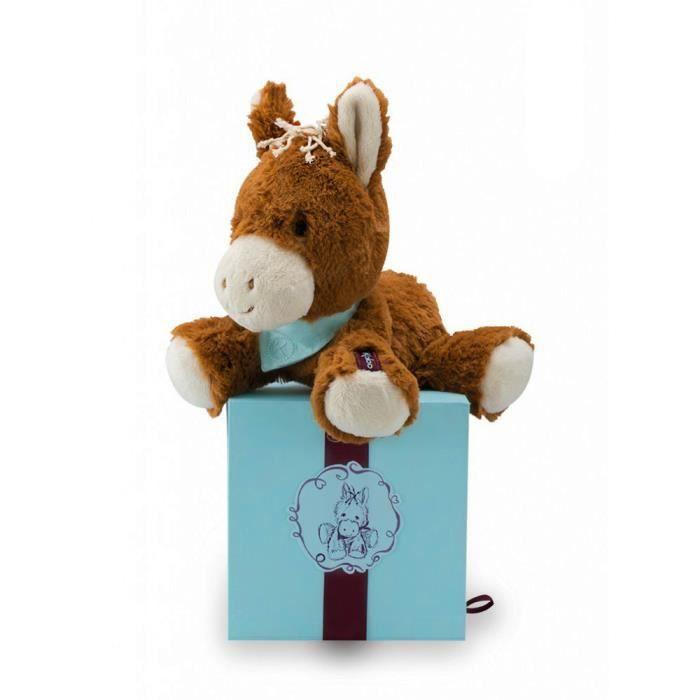 peluche pour tout petit les amis petit cheval mocha achat vente peluche les soldes. Black Bedroom Furniture Sets. Home Design Ideas