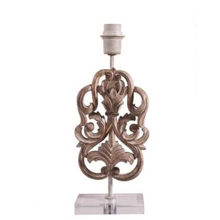 Pied de lampe osman bois achat vente pied de lampe for Pied de lampe bois