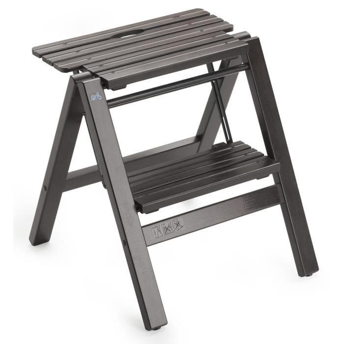 escabeau bois les bons plans de micromonde. Black Bedroom Furniture Sets. Home Design Ideas