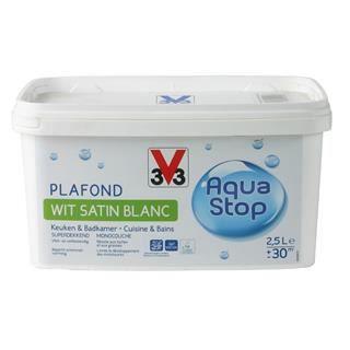 V33 peinture plaf cuisine et salle de bain aqu achat for Peinture cuisine et salle de bain
