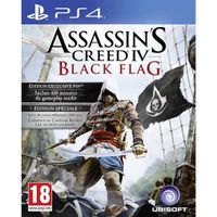 Assassin's Creed 4 : Black Flag Day One Jeu PS4