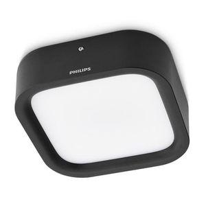 PHILIPS Plafonnier dalle LED Puddle noir 1x4W SELV