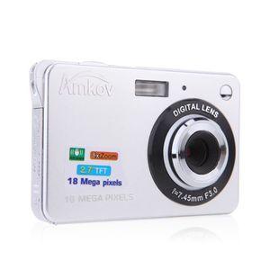 """APPAREIL PHOTO COMPACT CDFE Caméra Blanc Numérique HD  2.7"""" 18MP"""