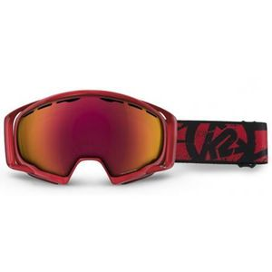 MASQUE SKI - SNOWBOARD masque k2 photophase red / red - Taille unique