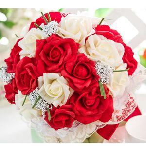 bouquet de rose rouge achat vente bouquet de rose rouge pas cher cdiscount. Black Bedroom Furniture Sets. Home Design Ideas
