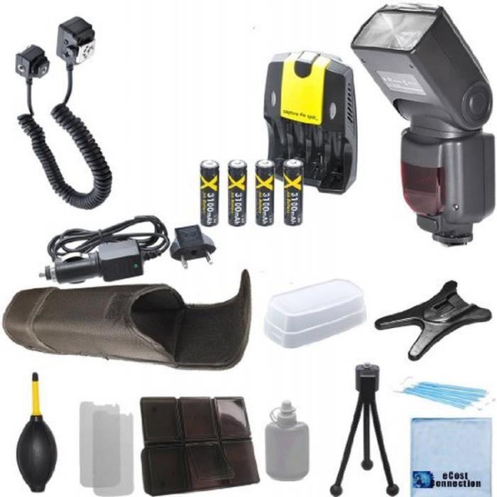 Kit flash zoom num rique complet pour appareils achat vente flash cdis - Cdiscount vente flash ...