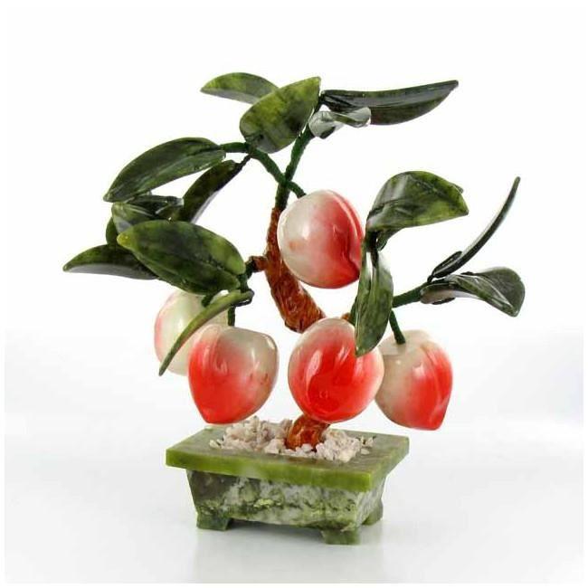 arbre p che de long vit feng shui bonheur et sant achat vente fleur artificielle. Black Bedroom Furniture Sets. Home Design Ideas