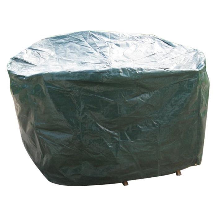 Bentely garden petite b che de protection pour mobilier rond achat vente housse meuble - Bache pour salon de jardin rond ...