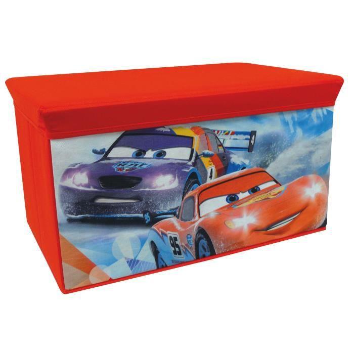 Cars coffre jouets pliable cijep achat vente coffre jouets les soldes sur cdiscount - Grand coffre a jouet cars ...