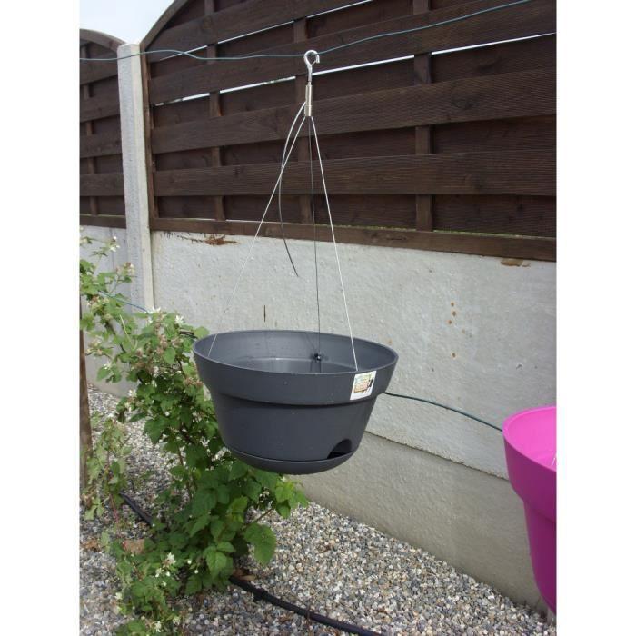 suspension r serve d 39 eau clips e achat vente jardini re pot fleur suspension r serve d. Black Bedroom Furniture Sets. Home Design Ideas