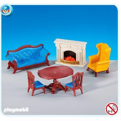 Playmobil 6244 salle manger avec chemin e achat for Salle manger playmobil