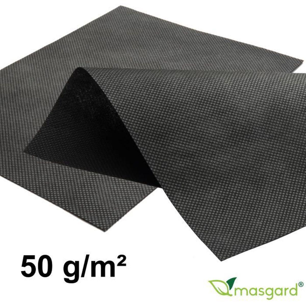 geotextile noir achat vente geotextile noir pas cher cdiscount. Black Bedroom Furniture Sets. Home Design Ideas